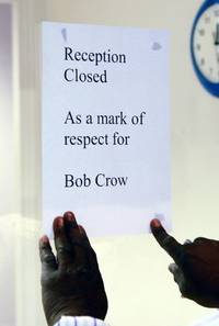 office window closed: union's fitting tribute to bob crow