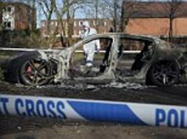 Chorlton man dies from 'hit and run' by Porsche later found burnt out