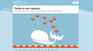 twitter outage reveals it's no longer 'fail whale', say hello to 'fail caterpillar'